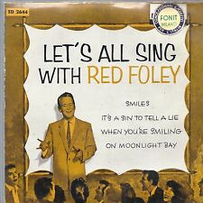 LET'S ALL SING WITH RED FOLEY = RED FOLEY and The Anita Kerr Singers