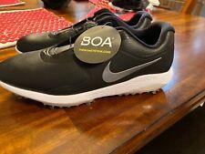 Nike Boa Lunarlon Vapor Pro Mens Golf Shoes 12 Aq1790-001 Black Waterproof New
