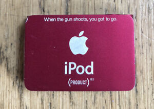 Apple iPod Shuffle 2nd Gen In Box Product Red Special Edition 1Gb Music Exercise