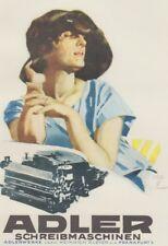 Ludwig Hohlwein - Farbige Werbegraphik 20er Jahre - Motiv Adler Schreibmaschinen