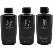 John Player Special BLACK JPS Duschgel 3 x 500 ml Bath & Shower Gel