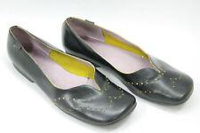 CAMPER women shoes sz 9.5 Europe 41 black leather S7667