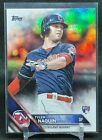 Tyler Naquin RC / Rookie Card   2016 Topps Update #US117 RAINBOW FOIL   Reds. rookie card picture
