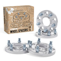 4pc 15mm Thick HUBCENTRIC Wheel Spacers | 5x114.3 | 67.1mm bore | 12x1.5 Studs