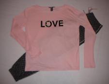 Victoria's Secret Pajama Set Flannel Pants Long Sleeve Bling Sleep Shirt S M L