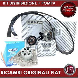 Kit distribuzione Originale + Pompa Fiat Alfa Romeo Lancia 1.6 multijet