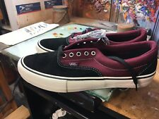 Vans Era PRO Black/Port  Size US 13 Men VN0A347L2Q1 Extra Laces (New In Box)
