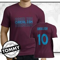 Aston Villa Grealish Stacked T-Shirt, Fan T Shirt Super Jack Fan T Shirt