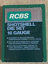 Rcbs Shotshell Die Set Excellent Condition #99001