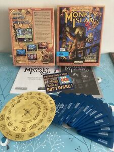 Monkey Island 2 - Big Box Amiga Game - LucasArts