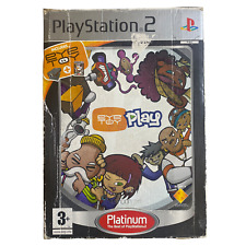 Eye Toy Play Platinum Sony Playstation 2 ps2 Spiel Kostenlose p&p