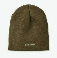 FILSON wool knit beanie, 20116450 - Olive Color - NEW - watch, cap, hat, winter