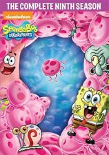 SPONGEBOB SQUAREPANTS TV SERIES COMPLETE NINTH SEASON 9 New Sealed 4 DVD Set