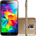 "5.1"" Samsung Galaxy S5 G900T 4G LTE 16GB 16MP Libre Telefono Movil Phone Oro"