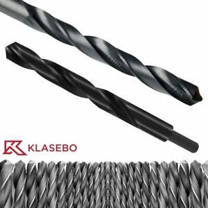 HSS Bohrer Spiralbohrer Metallbohrer Standard und mit reduziertem Schaft Klasebo