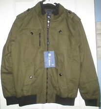 NWT Wantdo army green Winter Fall coat lined size small women or mens jacket