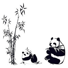 DIY Removable Panda eating bamboo Vinyl Decal Wall Art Sticker V7M9