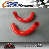 NEW Holden EH 149 179 silicone radiator hose kit RED