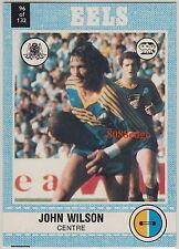 1977 SCANLENS RUGBY LEAGUE TRADING CARD #96: JOHN WILSON - PARRAMATTA EELS