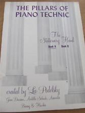 THE PILLARS OF PIANO TECHNIC THE STATIONARY HAND LEO PODOLSKY TRILLS NEW 1963