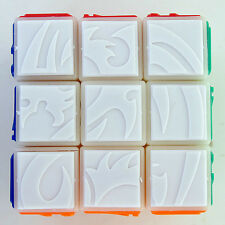 Ghost Hand Tiled Dragon Carving 3x3 3x3x3 Speedcubing Magic Cube Twist Puzzle