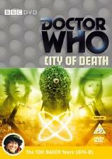 Doctor Who - City Of Death (DVD, 2005, 2-Disc Set) BBC NEW AND SEALED REGION 2