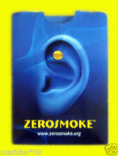 100 ZEROSMOKE Stop Quit Smoking Weight Loss Acupressure Magnet Therapy