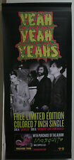 YEAH YEAH YEAHS Mosquito RARE VINYL BANNER POSTER DOUBLE SIDED 18x42 2013 NEW
