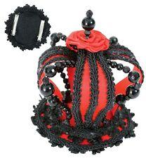 Krone Dark Angel Königin schwarz rot Gothic Barock Halloween Kostüm 126109113
