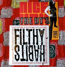 "THE DT'S 2 x LP LOT Filthy Habits & Nice N Ruff 12"" VINYL Garage Rock MONO MEN"