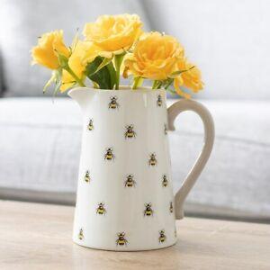 Bee Ceramic Flower Jug - boxed Gift