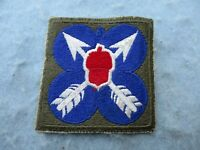 WWII US Army Patch 21st Corps Europe WW2