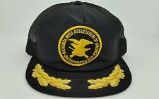 Vtg National Rifle Association of America NRA OneSize Scrambled Eggs Trucker Hat