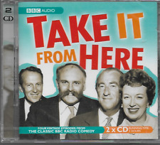 TAKE IT FROM HERE BBC AUDIO 2-DISC JIMMY EDWARDS JUNE WITFIELD NEW/SEALED 4-EPS