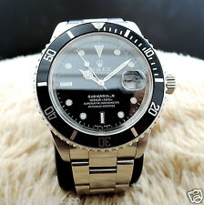 ROLEX MENS SUBMARINER CLASSIC BLACK, AMAZING CONDITION, SHIPS SERVICED, POLISHED