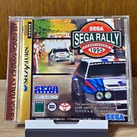 SEGA RALLY CHAMPIONSHIP Sega Saturn SS JAPAN