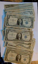 100 Silver 1935 & 1957 CERTIFICATE $1 One Dollar Notes Currency w/ 4 STAR Notes