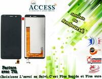 ECRAN LCD COMPLET + VITRE TACTILE WIKO TOMMY 3 NOIR
