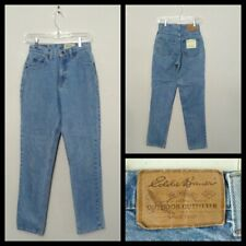 Eddie Bauer USA Made Cool Jeans Boys Meas.25x29, Tag 4 Blue Inv#A7478