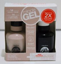 Sally Hansen Miracle Gel 2 Step Top Coat & Gel ~Headed Nude~ Color Polish