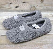 UGG Australia Womens Grey Natural Sheepskin Lounge Slippers US 10 NEW!