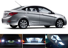 LED Package - License Plate + Vanity + Reverse for Hyundai Accent (6 Pcs)