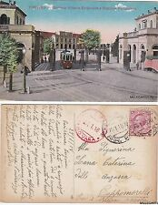 # TREVISO:  BARRIERA VITTORIO EMANUELE E STAZIONE FERROVIARIA  1918