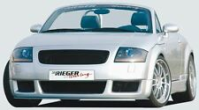 Rieger Front alerón enfoque RS-four-look para Audi TT 8n Coupe/Roadster