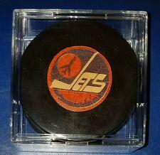 Winnipeg Jets NHL approved viceroy Canada vintage hockey puck scarce old beauty