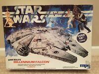 Star wars ; Han Solo's Millennium Falcon MPC 1979 Vintage Model Kit 1-1925