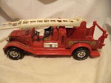 "Vintage NYLINT Classics Fire Department Ladder Truck~15"" Long~Metal/Plastic"