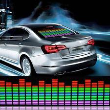90x10CM Car Sticker Multi Color Music Rhythm LED Flash Light Lampen Sound