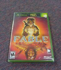 Fable (Microsoft Xbox) Xbox( Brand New & Factory Sealed!) Original Xbox Version!