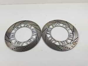Kawasaki GPZ 1100 Uni Track ZXT10A Bj: 85 Bremsscheiben Paar Vorne